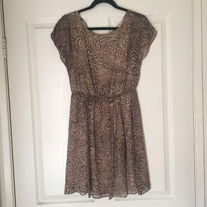 Alice + Olivia Leopard Dress